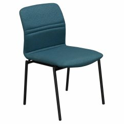 Teal Office Chair One And A Half Sleeper Stylex Bounce Used Stack National