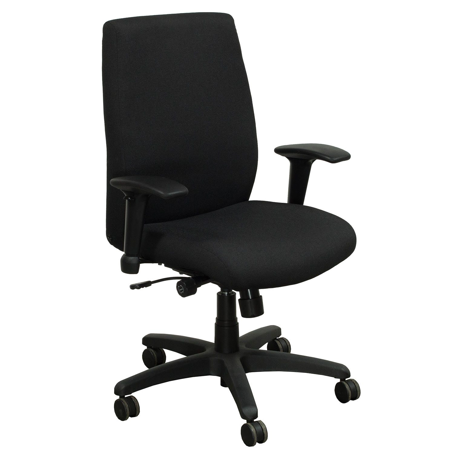 resistance chair accessories outdoor covers canadian tire allsteel ambition used task chair, black | national office interiors and liquidators