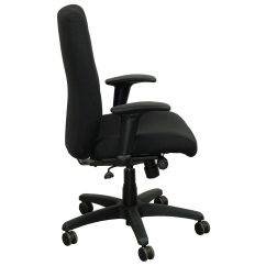 Allsteel Office Chair Baby Shower Couch Ambition Used Task Black National