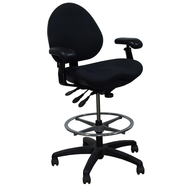 chair plus stool director covers black body bilt j757 used drafting national