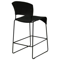 Chair Stool Black Office Jtf Fixtures Furniture Jazz Used National