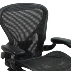 White Aeron Chair Dining Seat Covers India Herman Miller Posturefit Used Size C Task