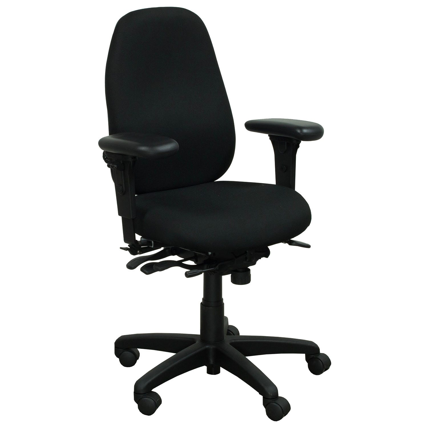 used office chairs chocolate brown accent master pt69 task chair black national