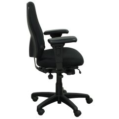 Desk Chair Youtube Galvanized Steel With Wood Seat Office Master Pt69 Used Task Black National