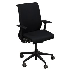 Steelcase Chair Awesome Office Chairs Think Used Task Black National