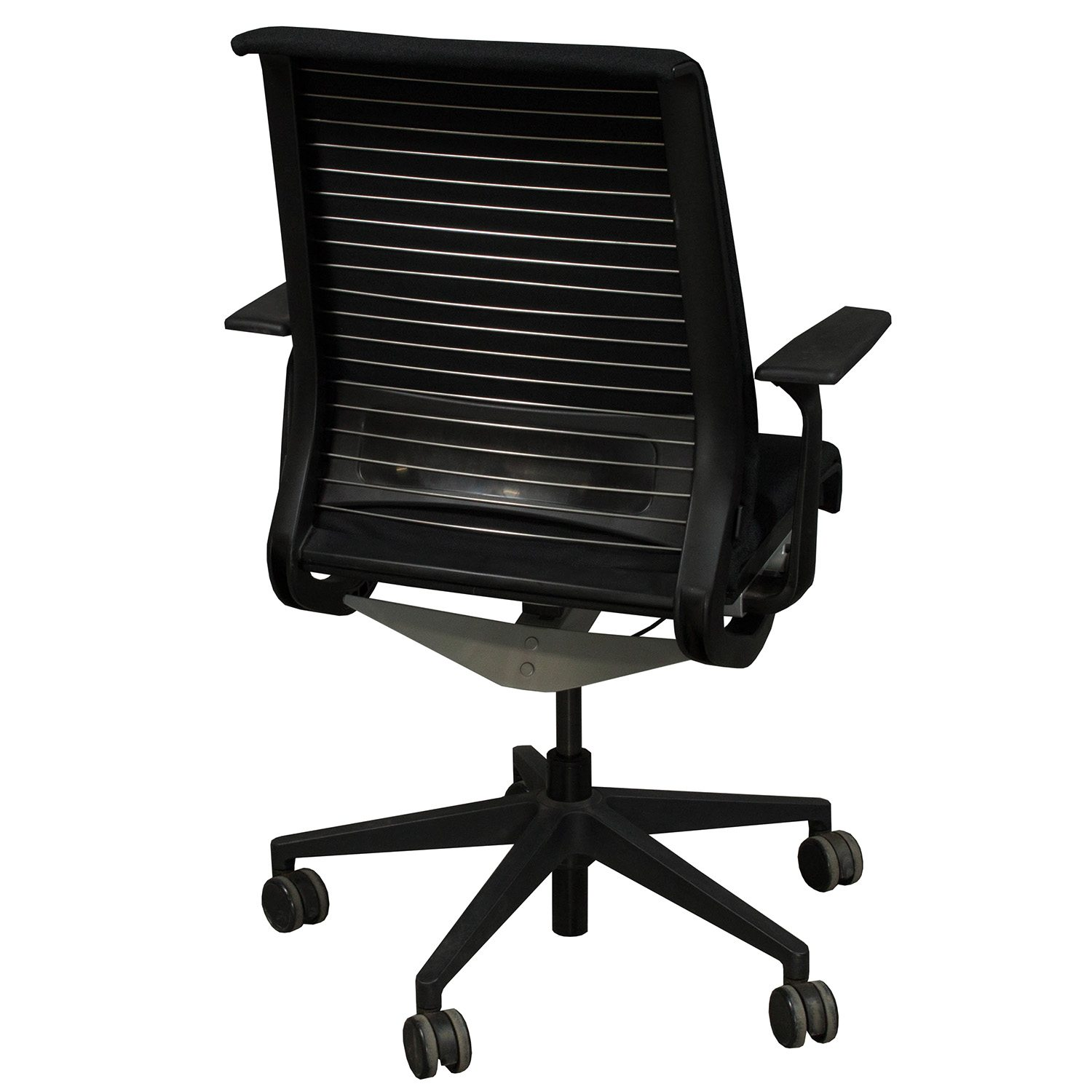 Steelcase Chairs Steelcase Think Used Task Chair Black National Office