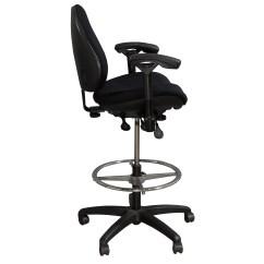 Chair Plus Stool Everyday Elegance Covers Body Bilt J757 Used Drafting Black Pattern