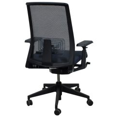 Office Chair Very Game Chairs With Casters Haworth Lively Used Mesh Back Task Gray National