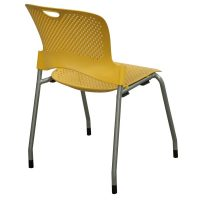 Herman Miller Caper Used Armless Stack Chair, Yellow ...