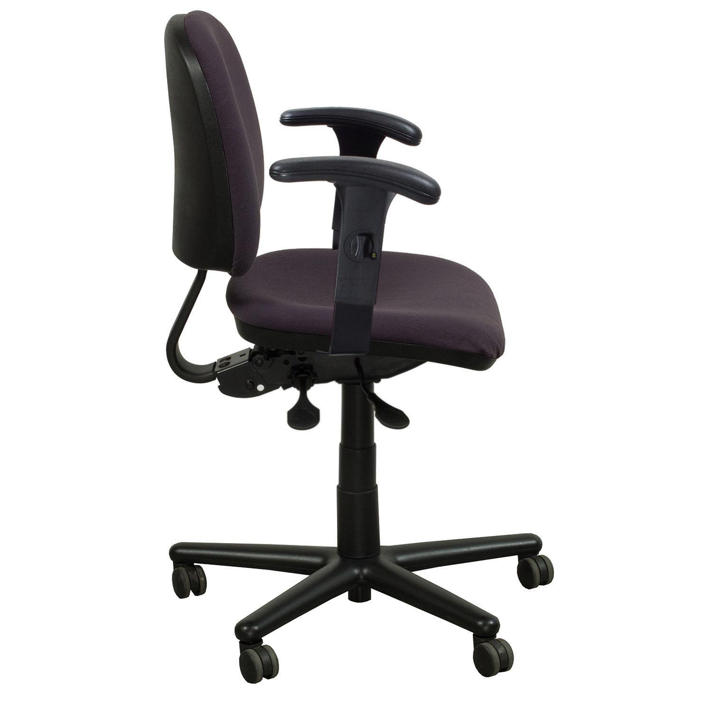 Kimball Used Midback Task Chair, Purple