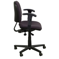 Kimball Used Midback Task Chair, Purple