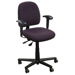 Office Task Chair Cheap Covers Birmingham Kimball Used Midback Purple National