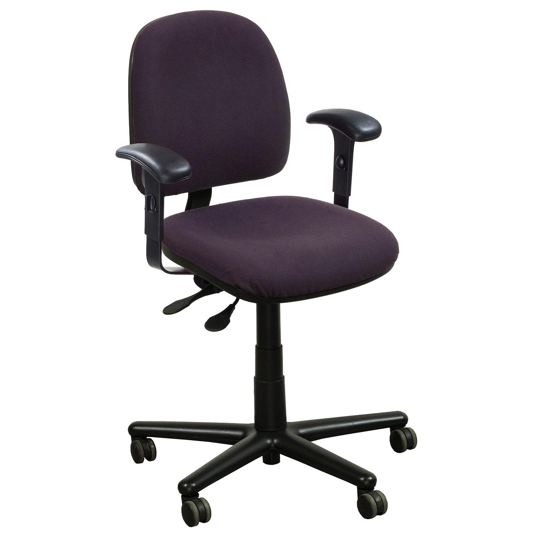 purple task chair baby bing bag kimball used midback national office