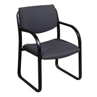 Boss Office Used Side Chair, Gray | National Office ...