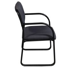 Side Chairs For Office Plastic Chair Steel Legs Boss Used Gray National
