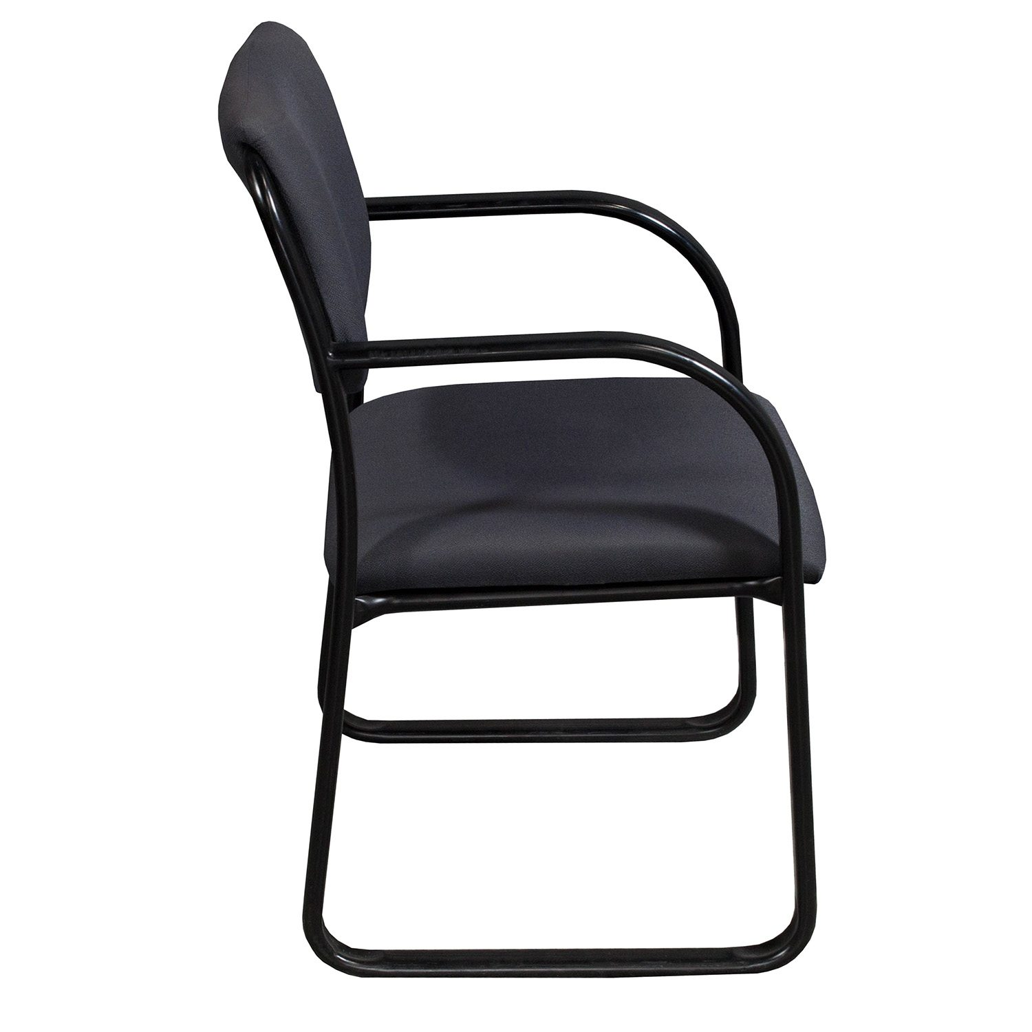 gray side chair bamboo boss office used national