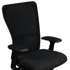 Haworth Zody Chair Wicker Chairs With Ottoman Underneath Used Task Black Circle Pattern