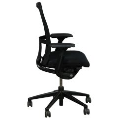 Haworth Zody Chair Covers In Gorey Mesh Back Used Task Black National Office