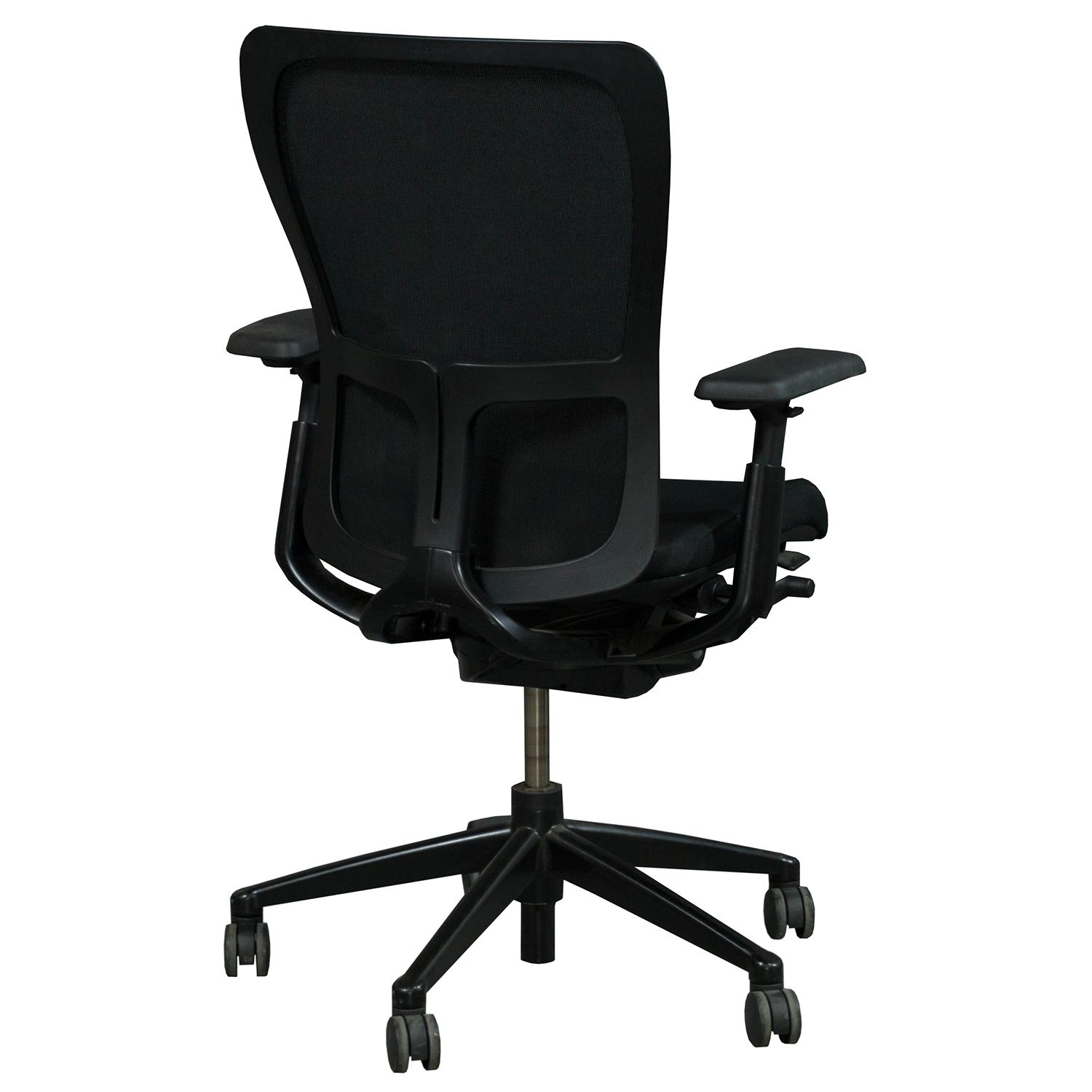 mesh task chair toddler folding table and chairs haworth zody back used black national