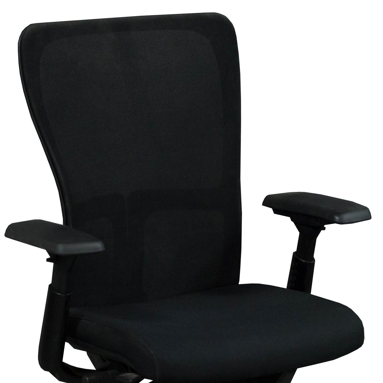 haworth zody chair evac hire mesh back used task black national