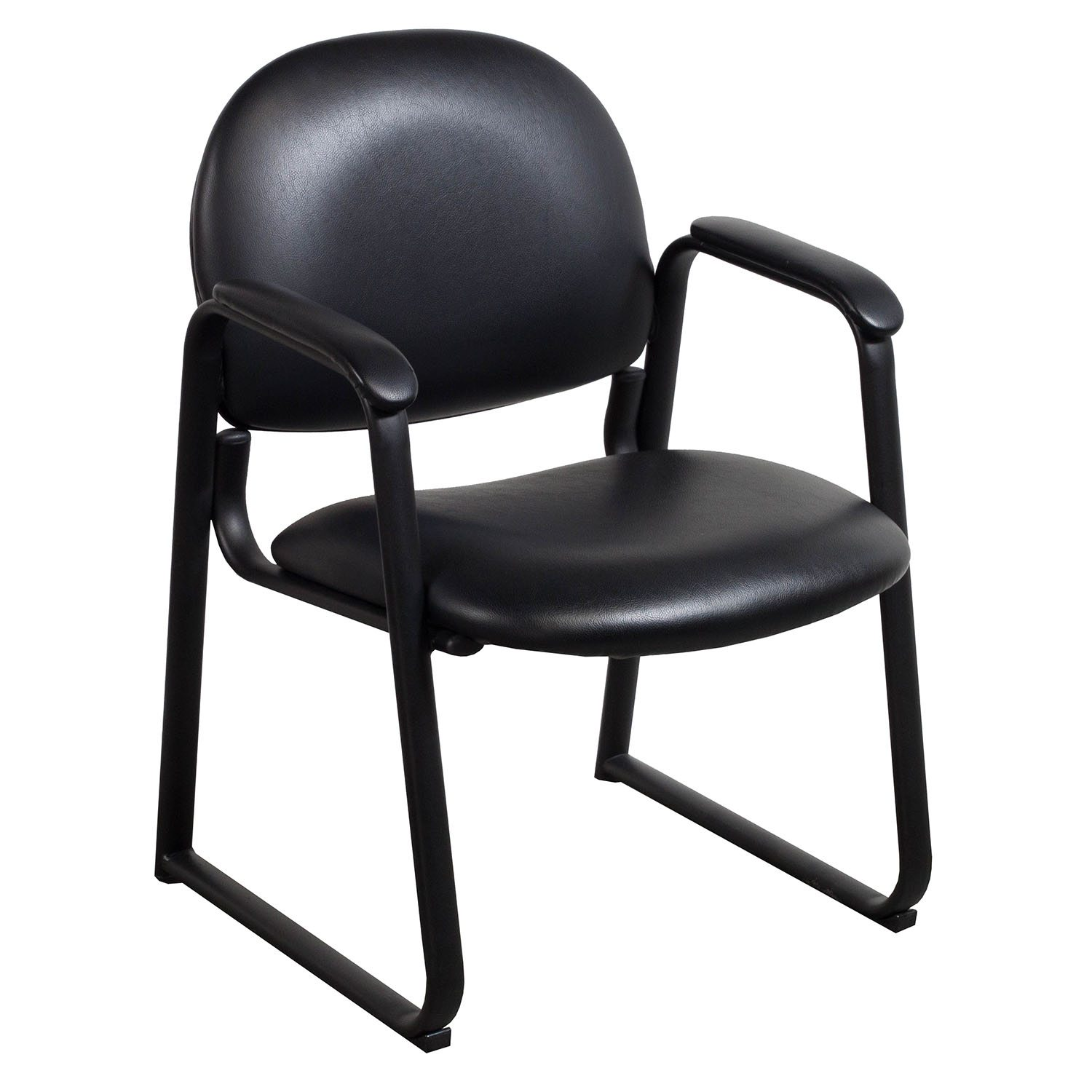 office side chairs chair yoga videos global used leather black national