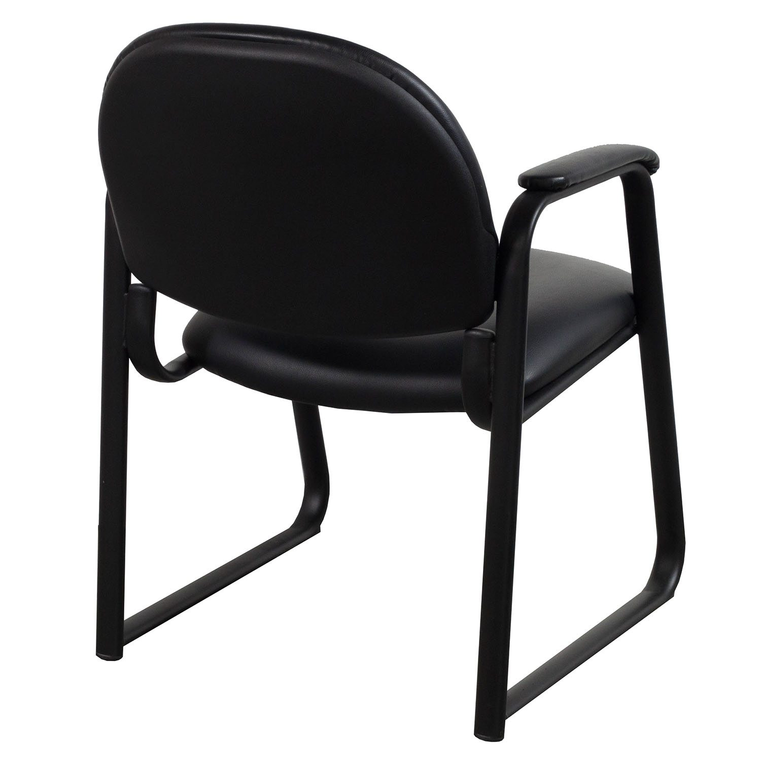 Leather Side Chair Global Used Leather Side Chair Black National Office