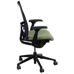 Haworth Zody Chair Big Joe Milano Used Task Black And Green National