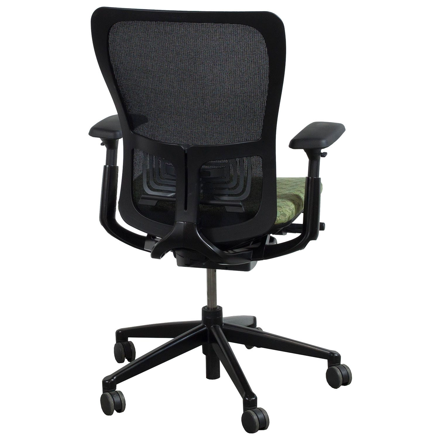 haworth zody chair restaurant dining chairs uk used task black and green national