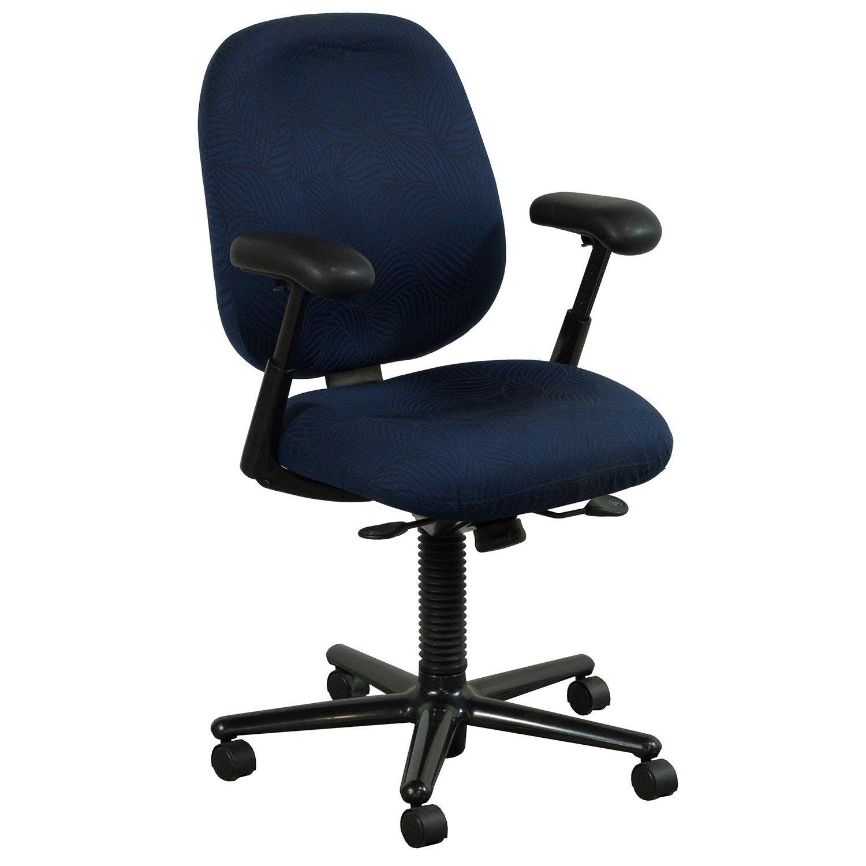 Herman Miller Ergon Used High Back Task Chair, Blue Leaf