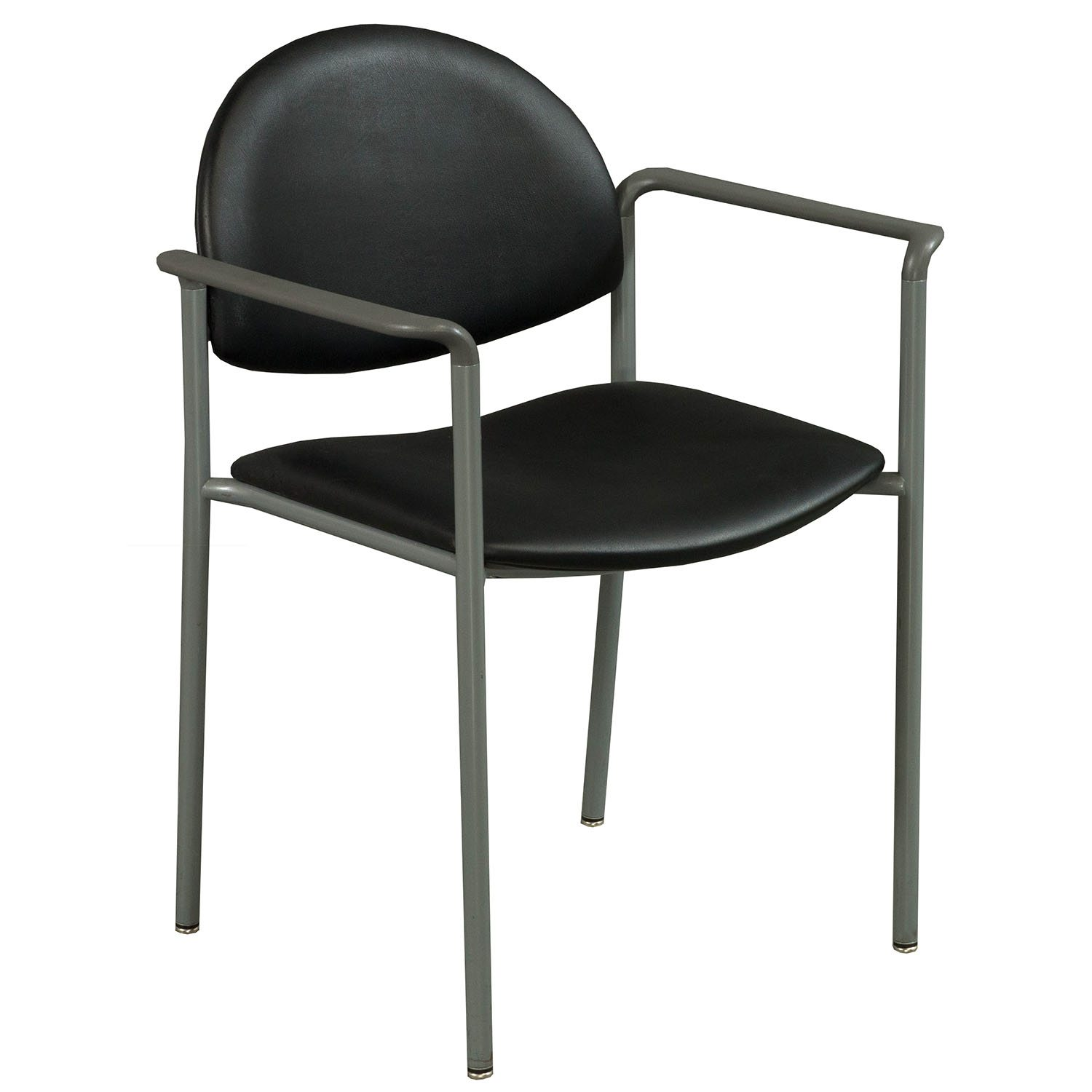 Ki Chairs Ki Versa Used Stack Leather Chair Black National Office