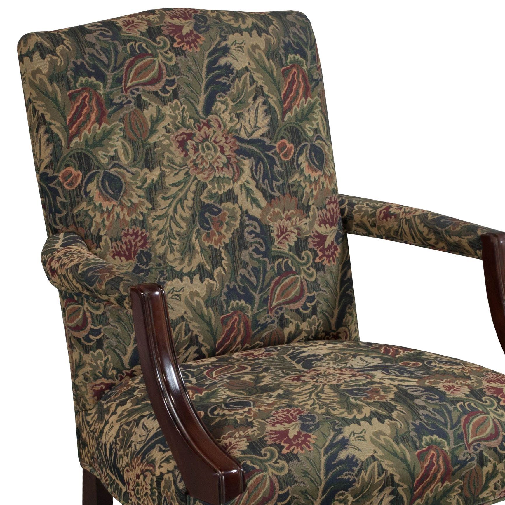 Floral Chair Kimball Independence Suffolk Used Side Chair Floral