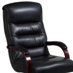 La Z Boy Black Leather Executive Office Chair Uk Wedding Decorations Chairs Receptions Horizon Used High Back Wood Conference