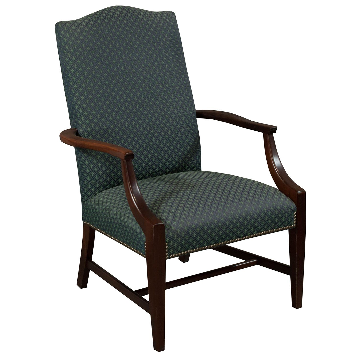 Pattern Chair St Timothy Traditional Used Side Chair Blue Pattern