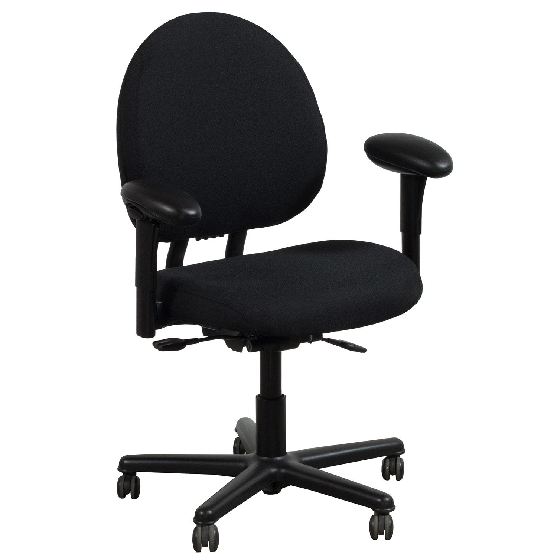 Steelcase Criterion Plus Used Big Man Task Chair Black