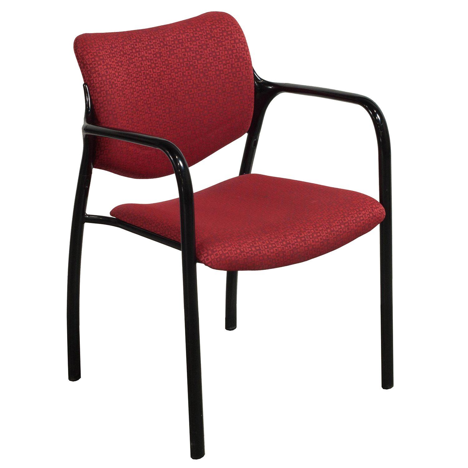 Pattern Chair Herman Miller Aside Used Stack Chair Red Pattern