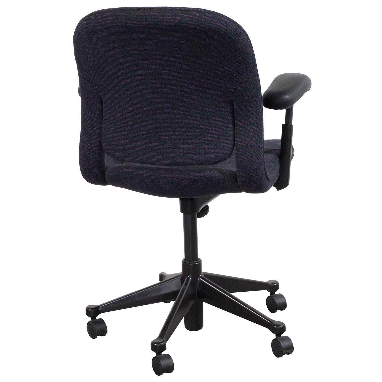 purple task chair folding adirondack design herman miller equa mid back used