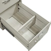 Hon Used 4 Drawer Legal Size Vertical File, Light Gray ...