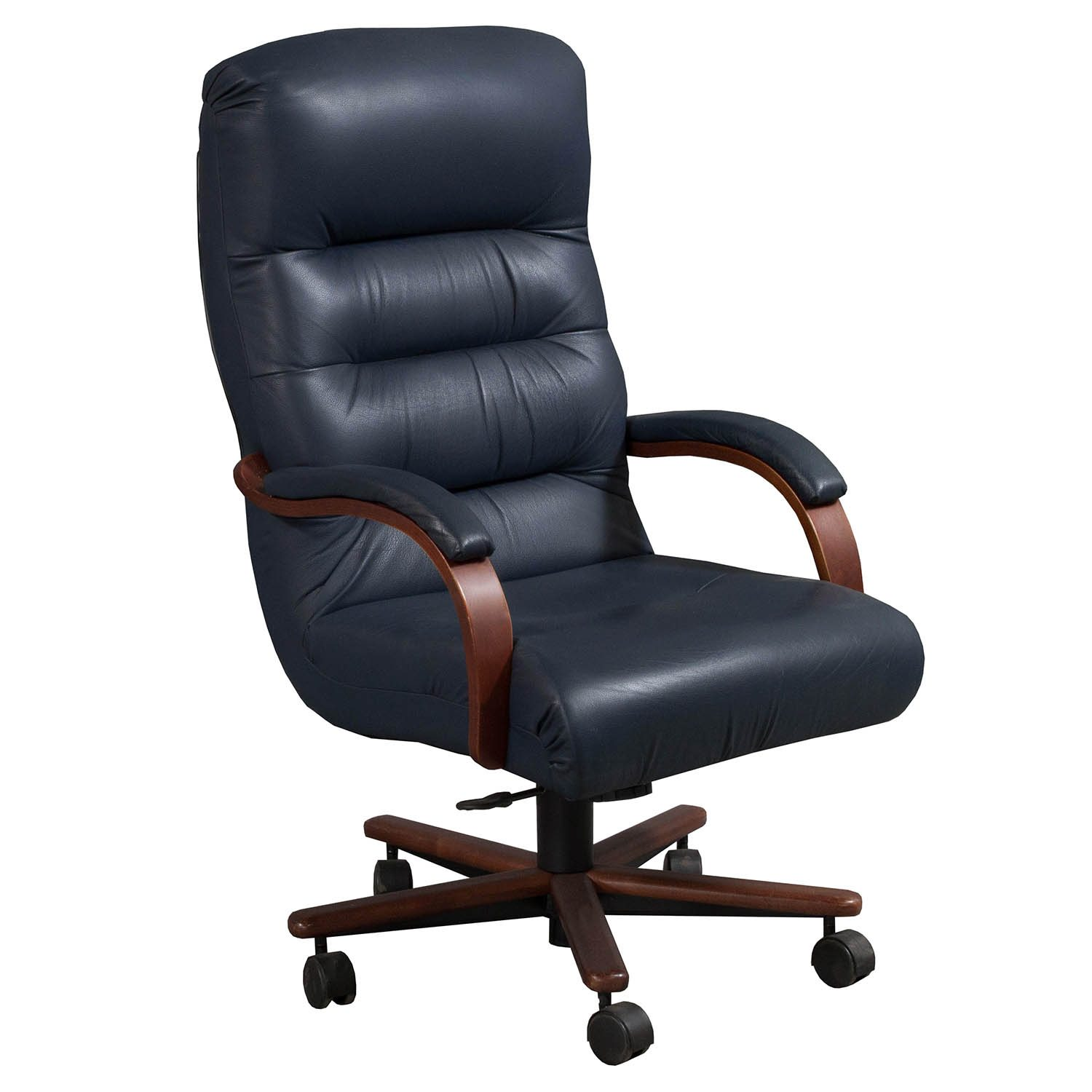 LaZBoy Horizon Used High Back Leather Conference Chair