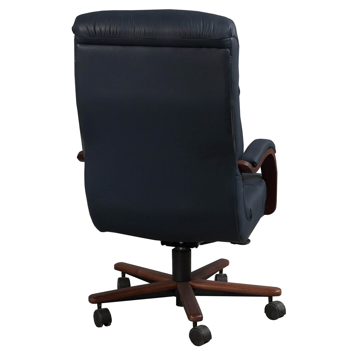 La Z Boy Office Chairs La Z Boy Horizon Used High Back Leather Conference Chair