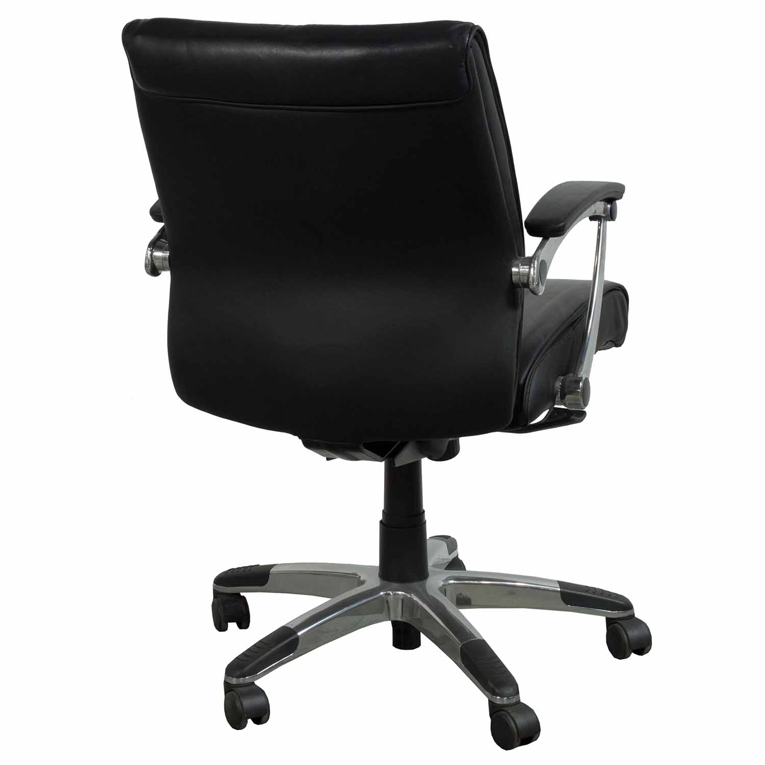 Leather Conference Room Chairs Used Leather Conference Chair Black National Office