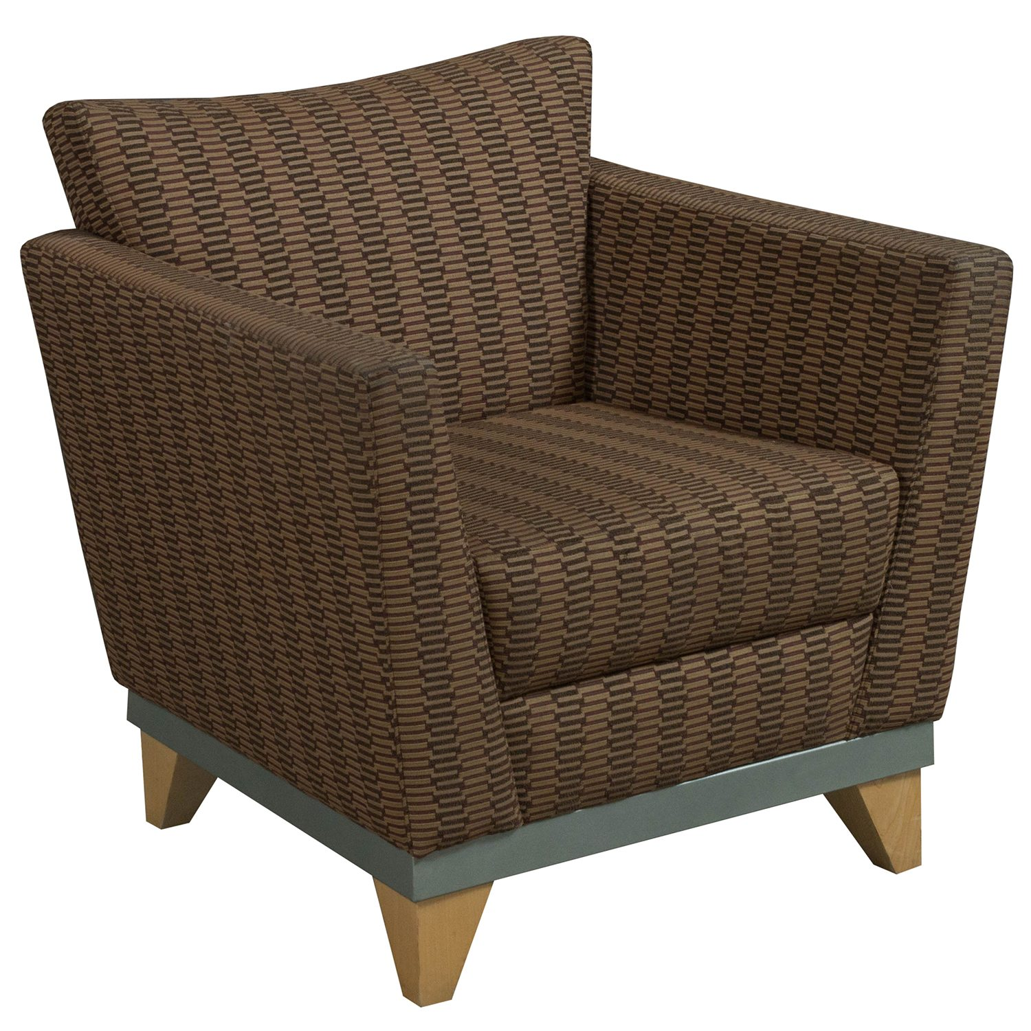 Pattern Chair Arcadia Used Lounge Chair Brown Pattern National Office
