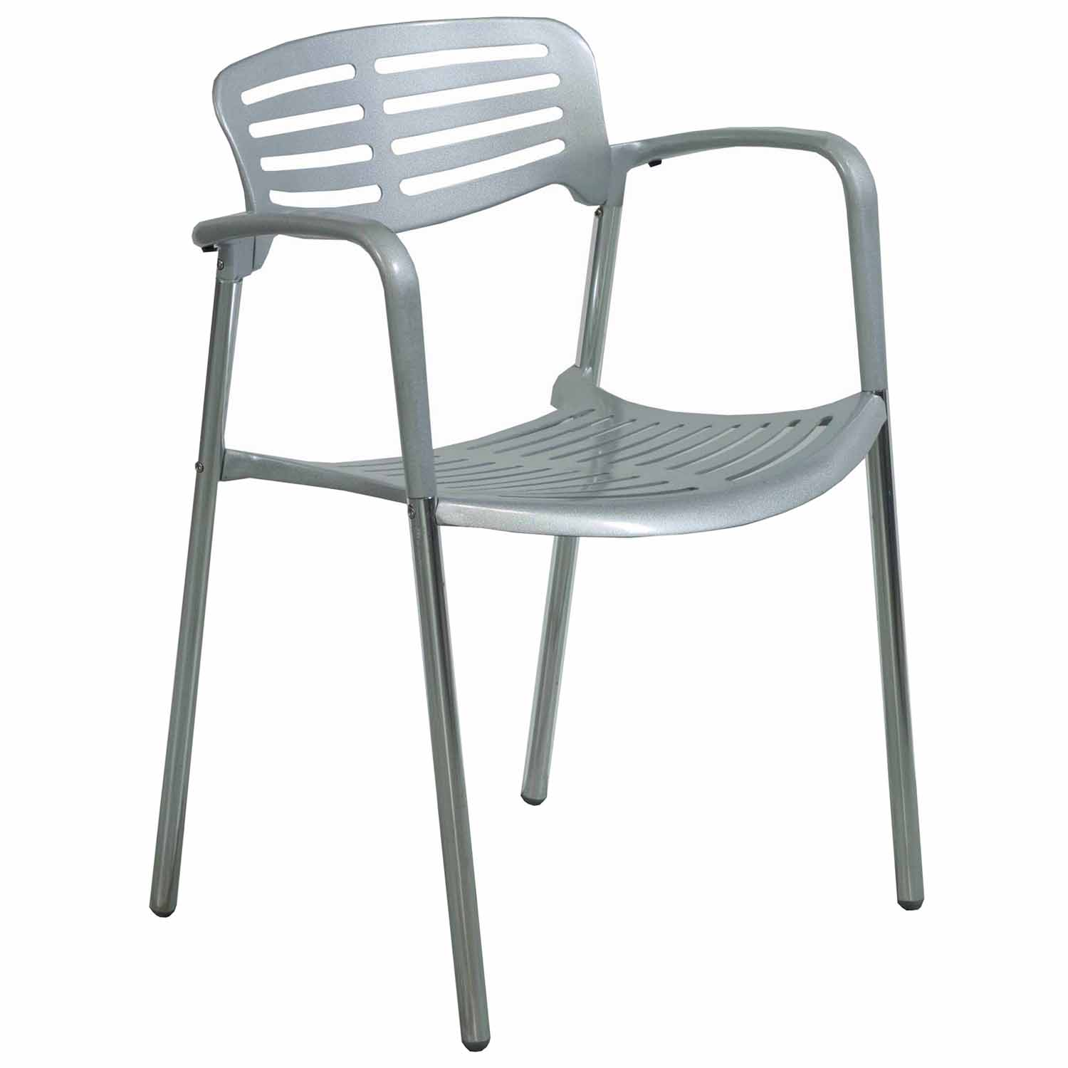 modern metal chairs expensive office used stack chair silver national