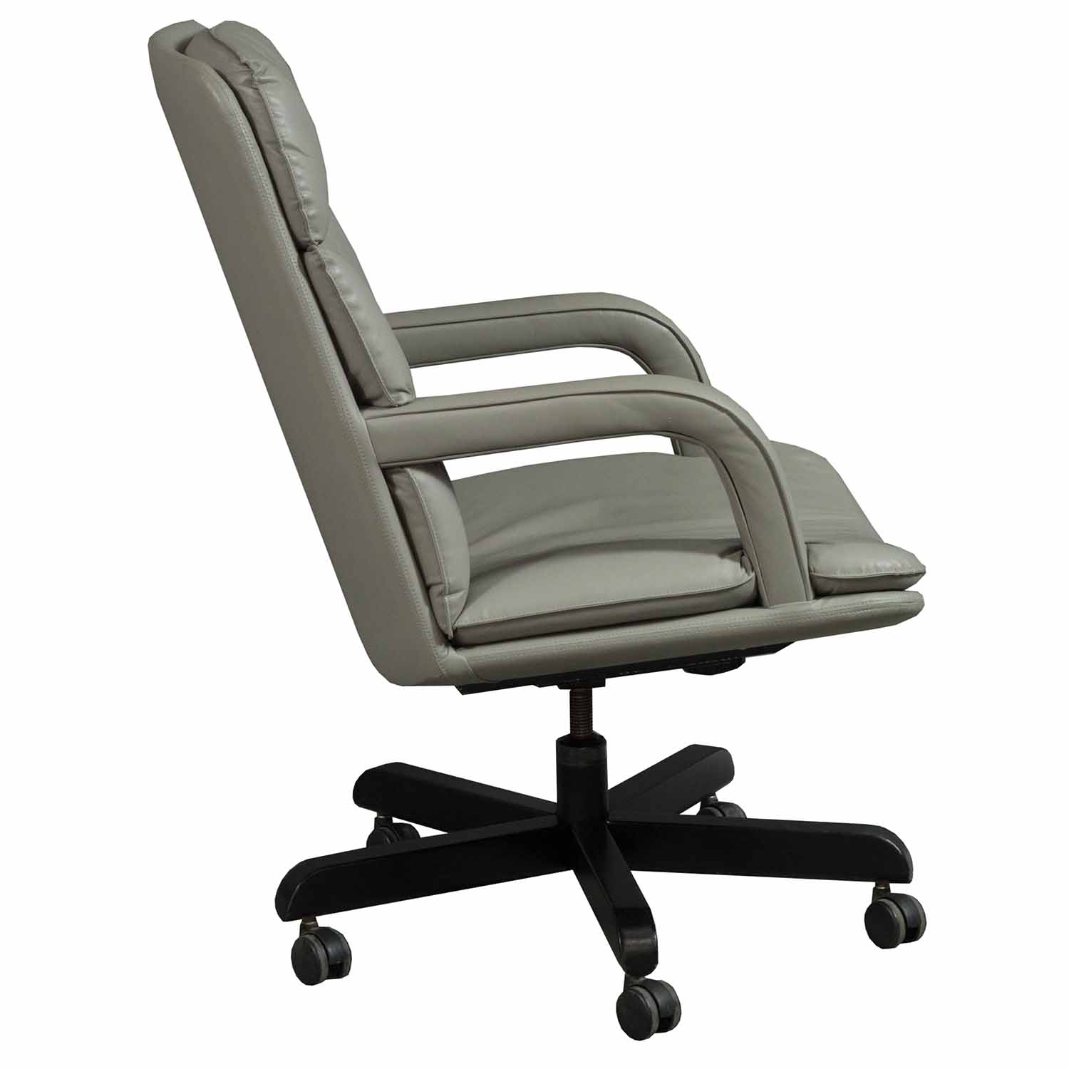 Leather Conference Room Chairs Used Leather Conference Chair Taupe National Office