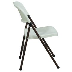 White Folding Chairs Wheelchair Outline Samsonite Used Plastic Chair National