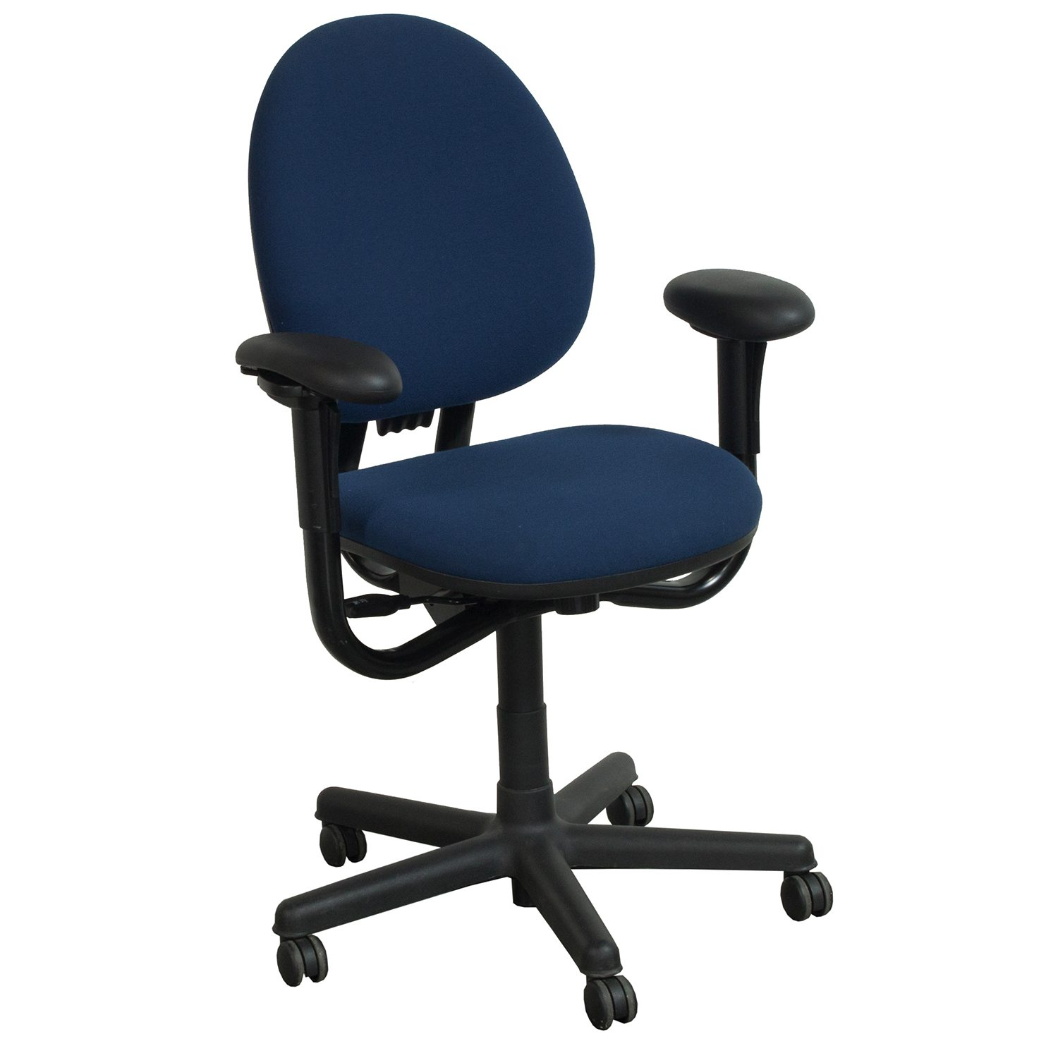 Used High Chairs Steelcase Criterion Used High Back Task Chair Blue