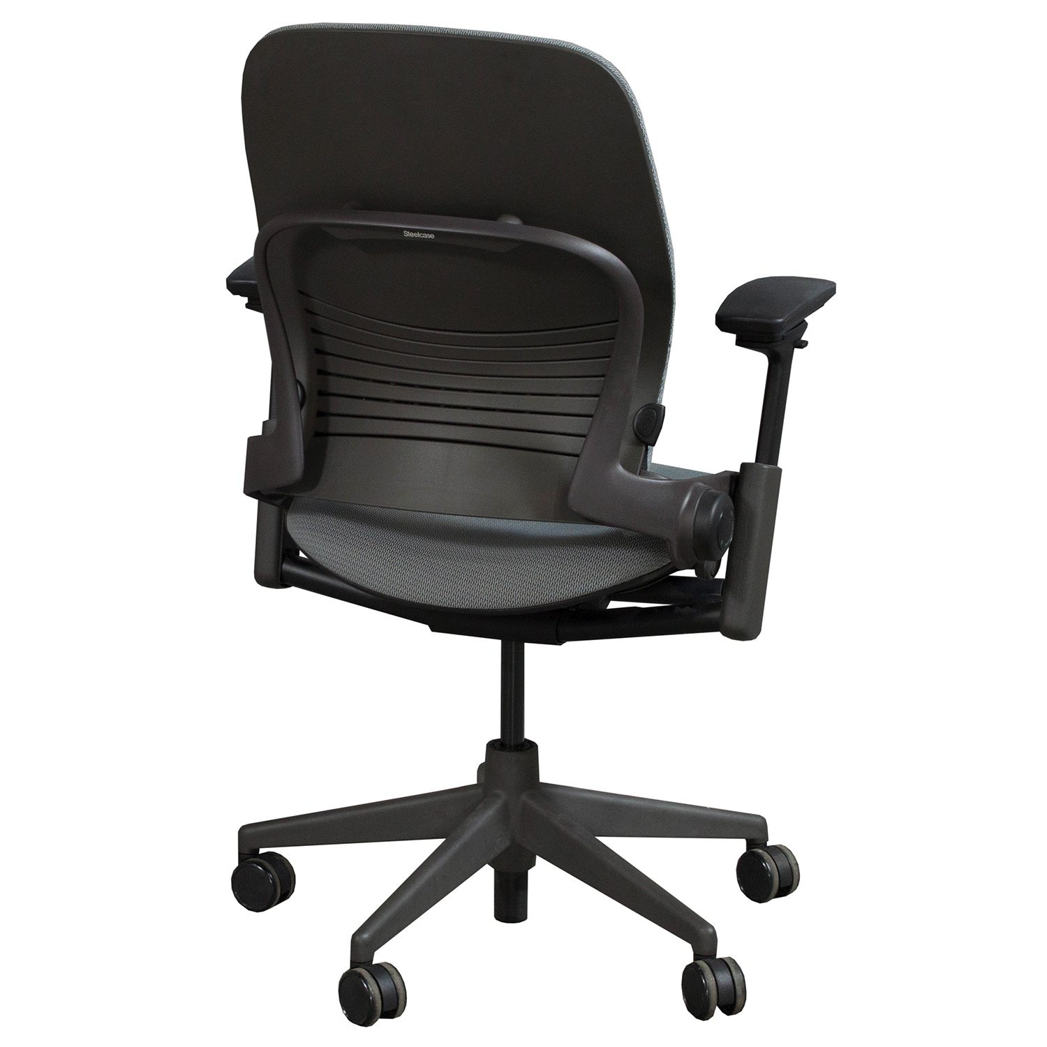 steelcase leap chair balance cushion for v2 used task gray national office