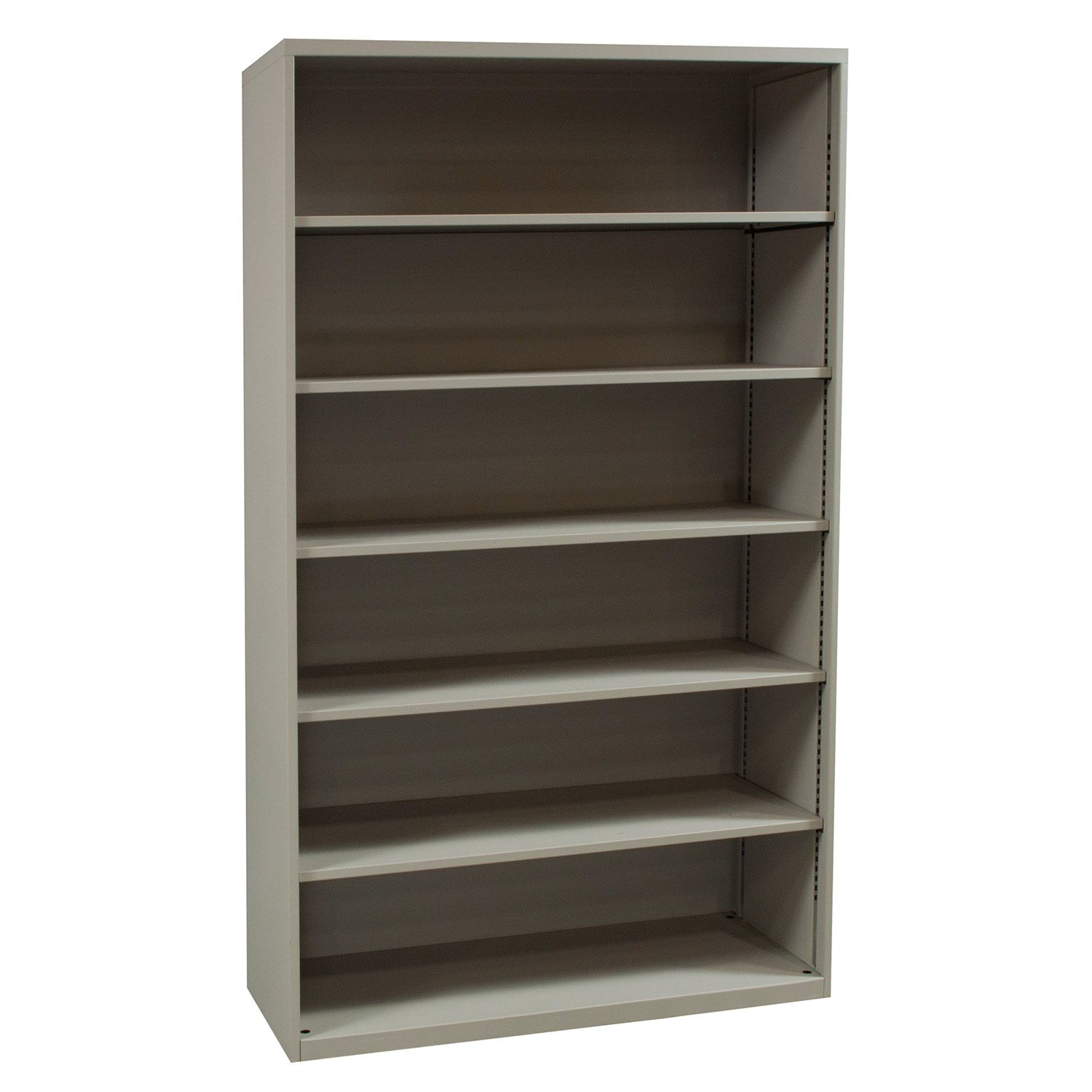 Teknion Used 6 Shelf 75 Inch Bookcase, Putty  National