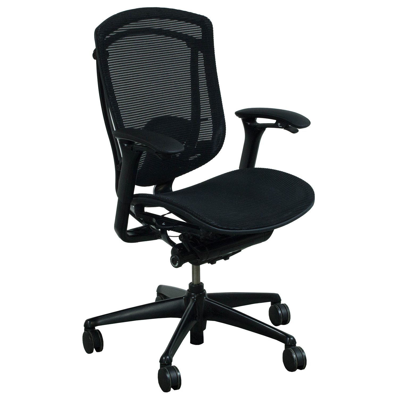 mesh task chair wheelchair walker teknion contessa used black national