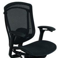 Teknion Contessa Used Mesh Task Chair, Black   National ...