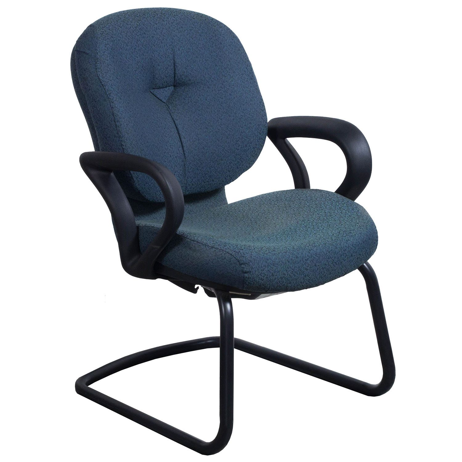 allsteel relate side chair swinging with stand used blue national office interiors